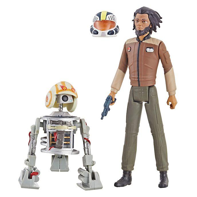 Hasbro - Star Wars: Resistance - Jarek Yeager & Bucket (R1-J5) - Actionfiguren