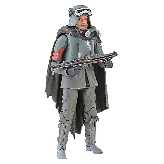 Hasbro Figurine Han Solo articulée de 15cm, Star Wars: The Black Series