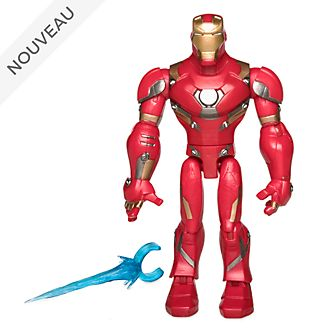 Disney Store Figurine Iron Man articulée, collection Marvel Toybox
