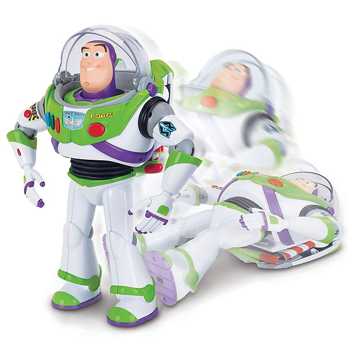 Buzz Lightyear Interactive Drop-Down Action Figure