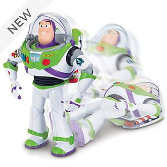 Buzz Lightyear Interactive Drop-Down Action Figure