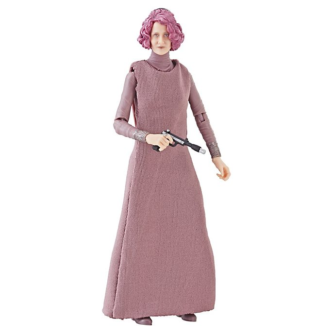 Hasbro Figurine Vice-amirale Holdo articulée de 15 cm, Star Wars: The Black Series