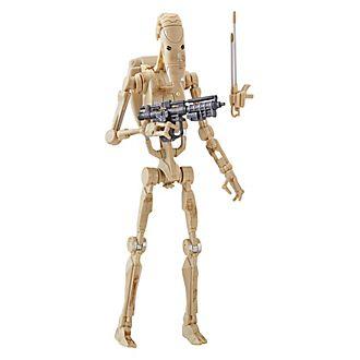 Hasbro, figura acción droide combate, Star Wars: The Black Series (15cm)
