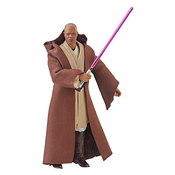 Hasbro, figura acción Mace Windu, Star Wars: The Black Series (15cm)