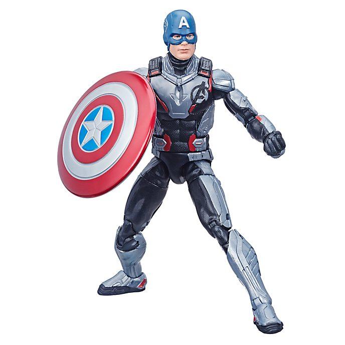 Figura acción Capitán América, Vengadores: Endgame, Hasbro (15cm)
