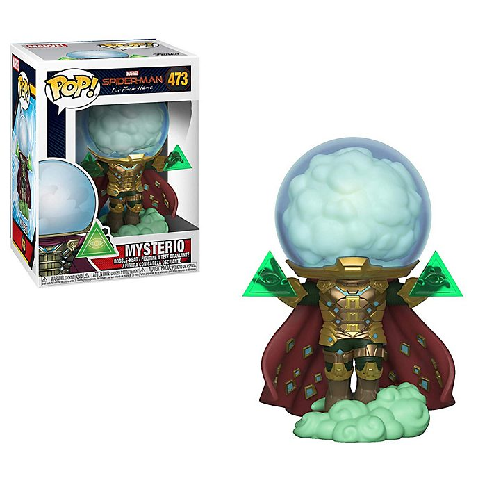 Funko Mysterio Glow-in-the-Dark Exclusive Pop! Vinyl Figure, Spider-Man: Far From Home