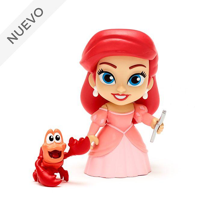 Funko set figuras vinilo Ariel y Sebastián, 5 Star