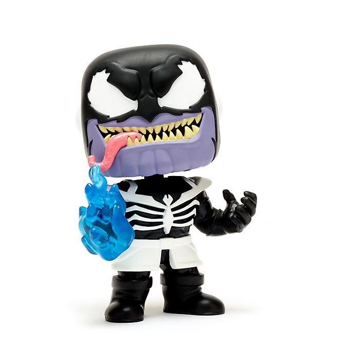 Personaggio in vinile Thanos venomizzato serie Pop! di Funko