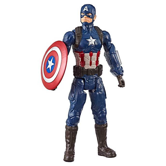Hasbro Figurine Captain America articulée Titan Hero Power FX