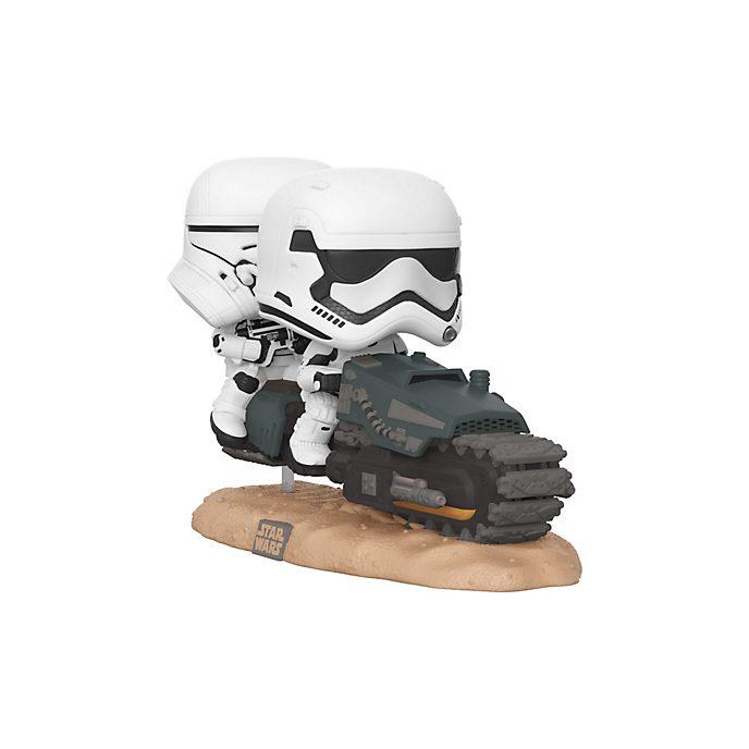 Personaggio in vinile Scout Trooper con Speeder Bike della serie Pop! di Funko, Star Wars