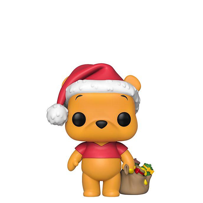 Personaggio in vinile Winnie the Pooh natalizio serie Pop! di Funko