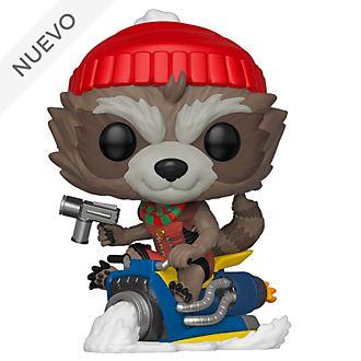 Funko Pop! figura navideña Rocket Raccoon de vinilo