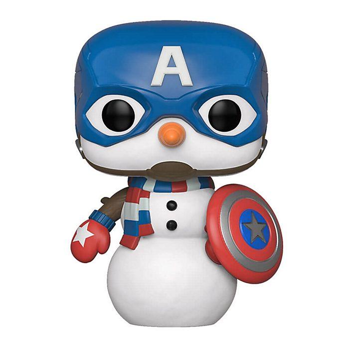 Funko Figurine Captain America bonhomme de neige Pop! en vinyle
