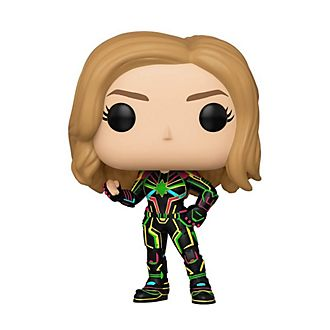 Personaggio in vinile Capitan Marvel costume neon serie Pop! di Funko