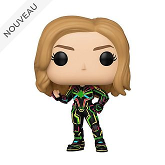 Funko Figurine Captain Marvel avec costume néon Pop! en vinyle