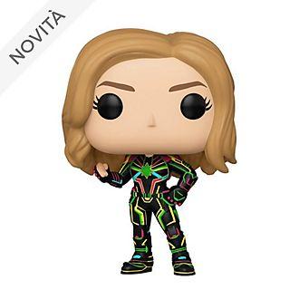 Personaggio in vinile Capitan Marvel costume neon serie Pop! di Funko