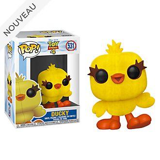 Funko Figurine Ducky Pop! exclusive floquéeen vinyle, Toy Story4