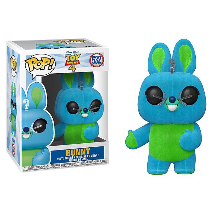 Figura de vinilo Pop! exclusiva y aterciopelada de Conejito, Toy Story4, Funko