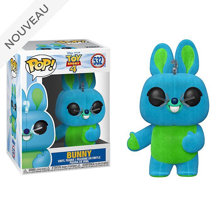 Funko Figurine Bunny Pop! exclusive floquéeen vinyle, Toy Story4