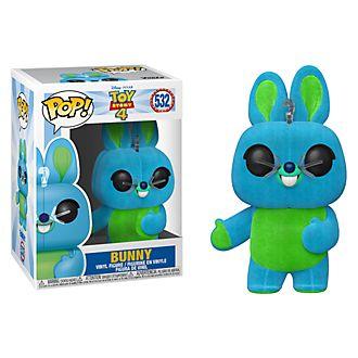 Funko - Bunny - Exklusive beflockte Pop! Vinylfigur - Toy Story4