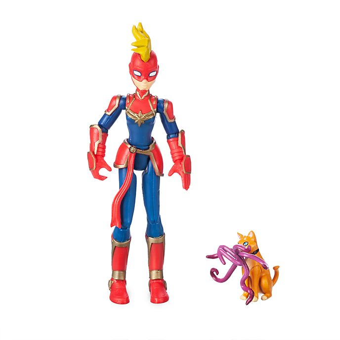Disney Store Marvel Toybox Captain Marvel Action Figure