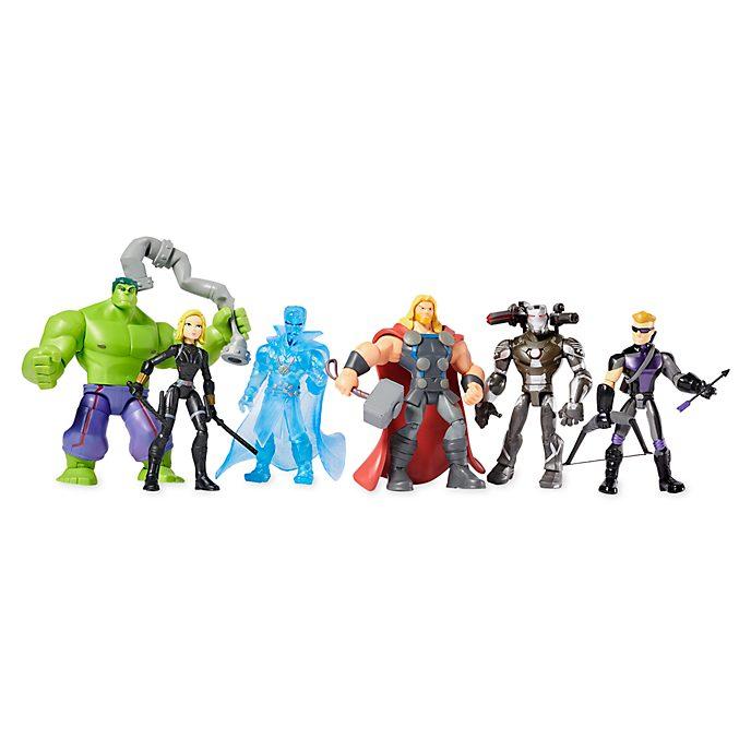Disney Store Coffret cadeau de figurines Avengers, Marvel Toybox