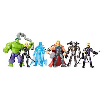 Set regalo action figure Avengers Marvel Toybox Disney Store