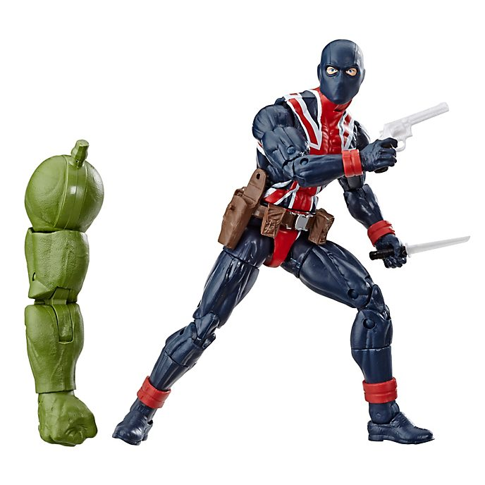 Hasbro Figurine Union Jack articulée 15cm, Marvel Legends