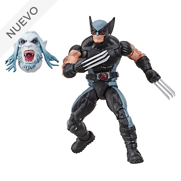 Muñeco de acción Lobezno, Marvel Legends, Hasbro (15 cm)