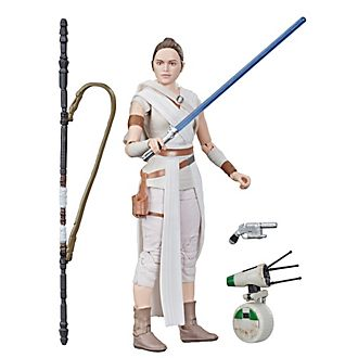 Hasbro - Star Wars: The Black Series - Rey und D-O - 15 cm große Actionfigur