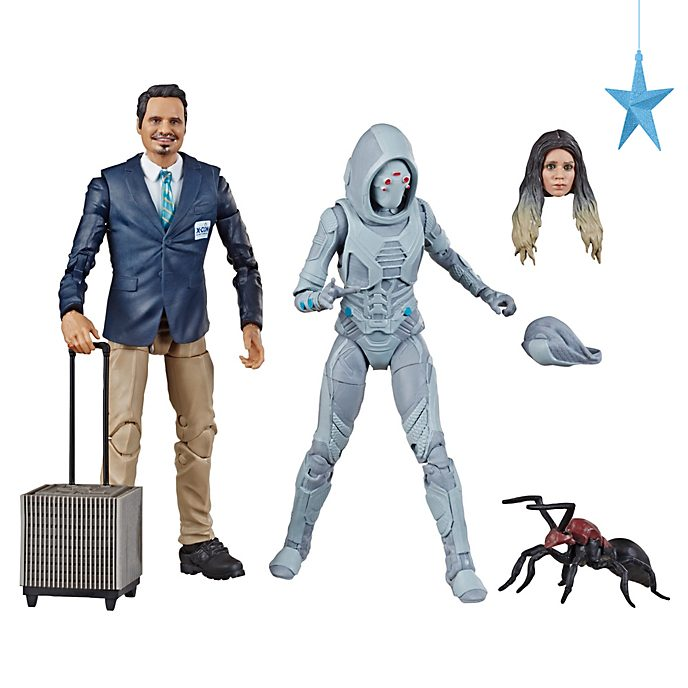 Hasbro Luis and Marvel's Ghost Legends 6'' Action Figure Set