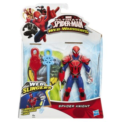 Personaggio snodabile Marvel Web Slingers, Spyder Knight 15 cm