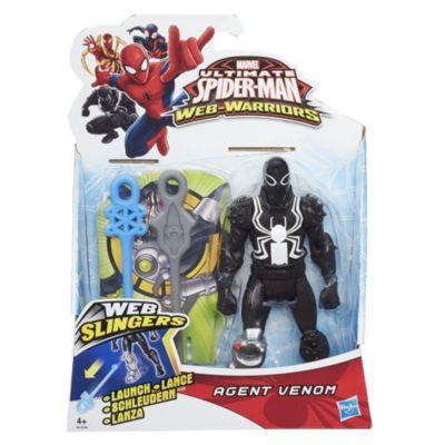 Muñeco de acción Agente Venom, Marvel Web Slingers (15 cm)