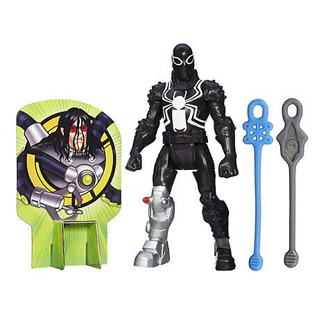 Personaggio snodabile Marvel Web Slingers, Agente Venom 15 cm
