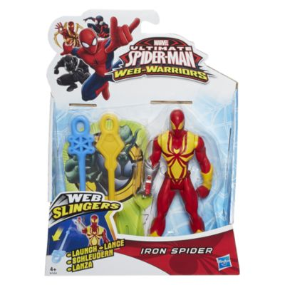 Muñeco de acción Iron Spider, Marvel Web Slingers (15 cm)