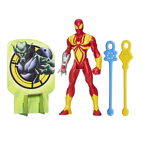 Marvel Web Slingers, Iron Spider actionfigur, 15 cm