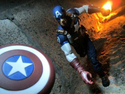 Captain America actionfigur, samlarutgåva