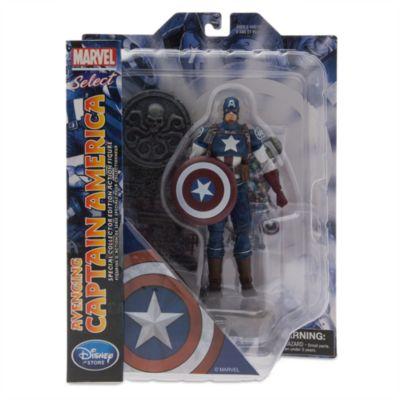Personaggio snodabile edizione speciale da collezione Capitan America