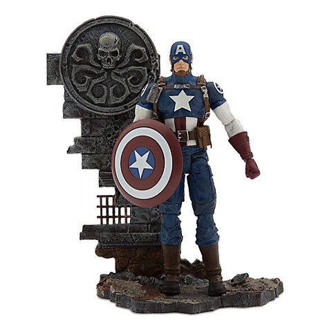 Captain America Special Collector Edition Action Figure