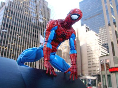 Spiderman actionfigur