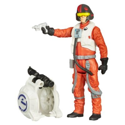 Star Wars: The Force Awakens 3.75'' Figure Space Mission Poe Dameron