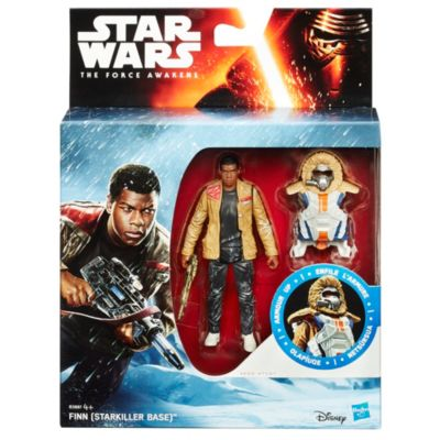 Star Wars The Force Awakens Snow Mission Armour Finn-figur 9,5 cm