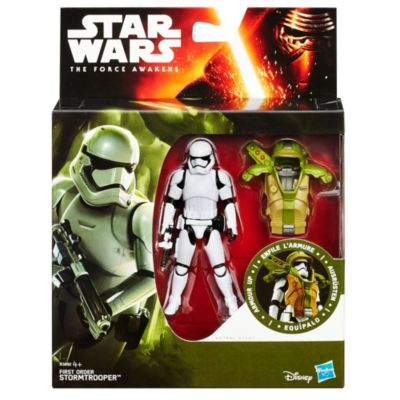Star Wars: The Force Awakens 3.75'' Figure Forest Mission Armour First Order Stormtrooper