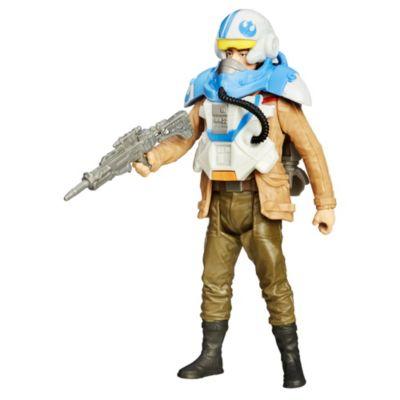 Figura Poe Dameron (piloto) con armadura tipo misión espacial, Star Wars VII: El despertar de la Fuerza (9,5 cm)