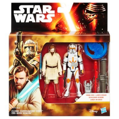 Star Wars: Revenge of the Sith 3.75'' Figure 2 Pack, Obi-Wan Kenobi and Commander Cody