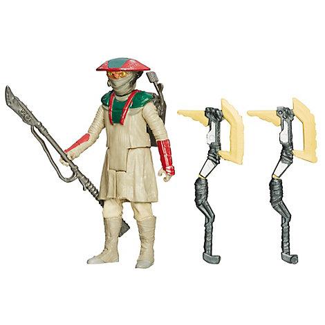 Figura Constable Zuvio misión desierto, Star Wars VII: El despertar de la Fuerza (9,5 cm)
