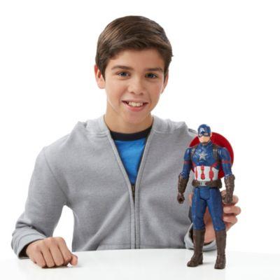 Personaggio snodabile Capitan America 30 cm serie Titan Hero, Captain America: Civil War