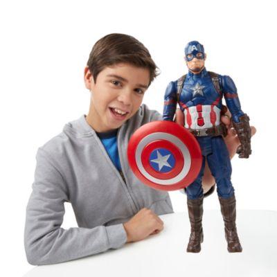 Figurine articulée parlante Captain America de 30 cm, de la série Titan Hero