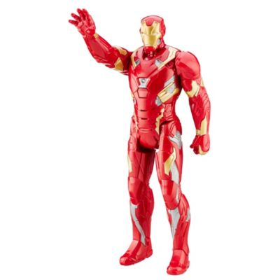 Figurine articulée de 30 cm Iron Man, Titan Hero, Captain America : Civil War