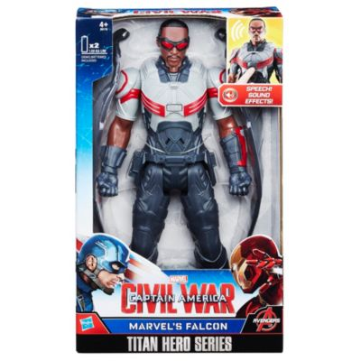 Personaggio snodabile Falcon 30 cm serie Titan Hero, Captain America: Civil War